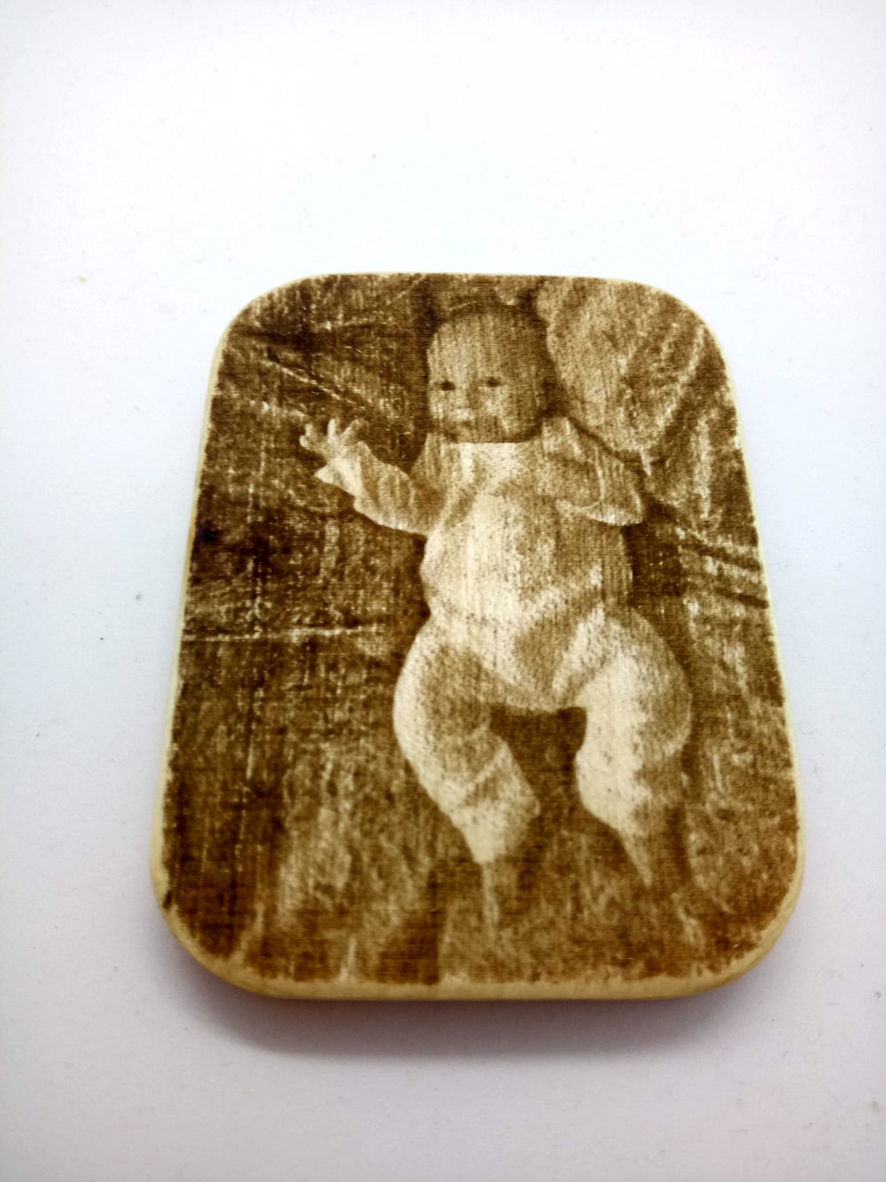 Image of Custom Wooden Fridge Magnets