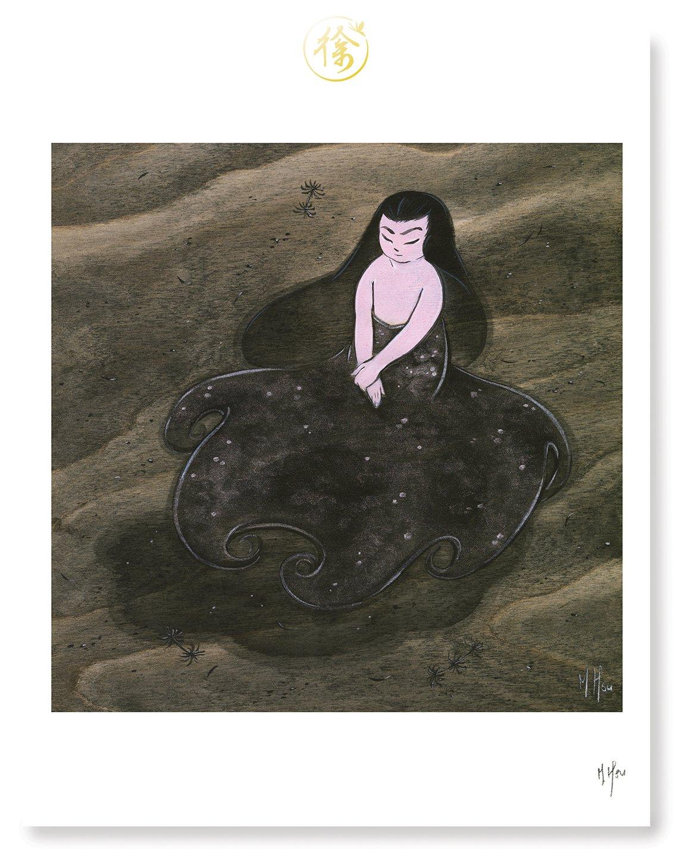 "Siren- Ursula 11 x 14"" Print"
