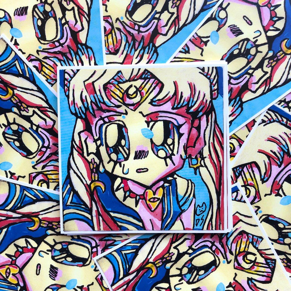 Image of Sailor Moon Redraw Print