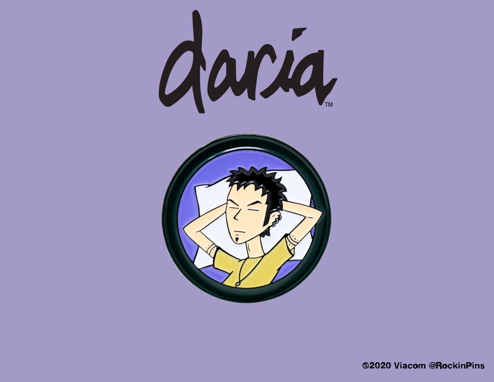 Image of Daria - Trent Lane Sleeping Enamel Pin