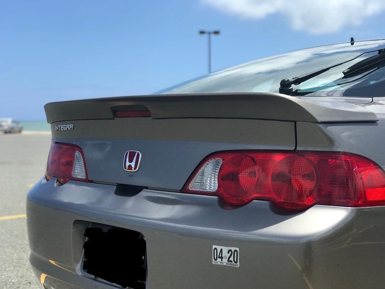 Image of RSX DC5 LOW RISE trunklid spoiler