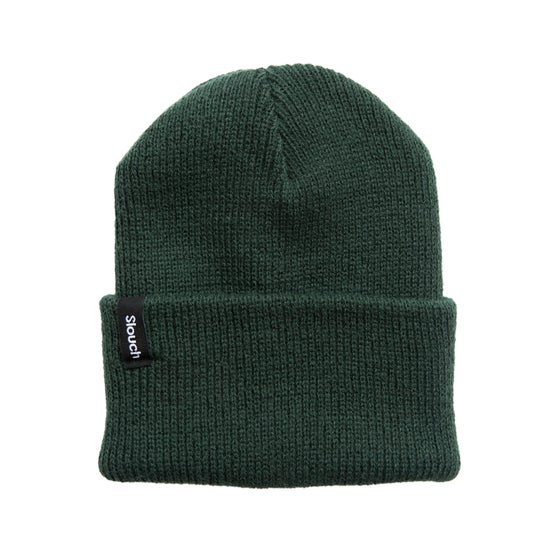 Image of Hunter Green Knit Cuff Beanie