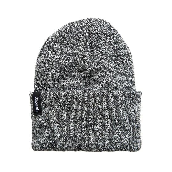 Image of Zebra Knit Cuff Beanie