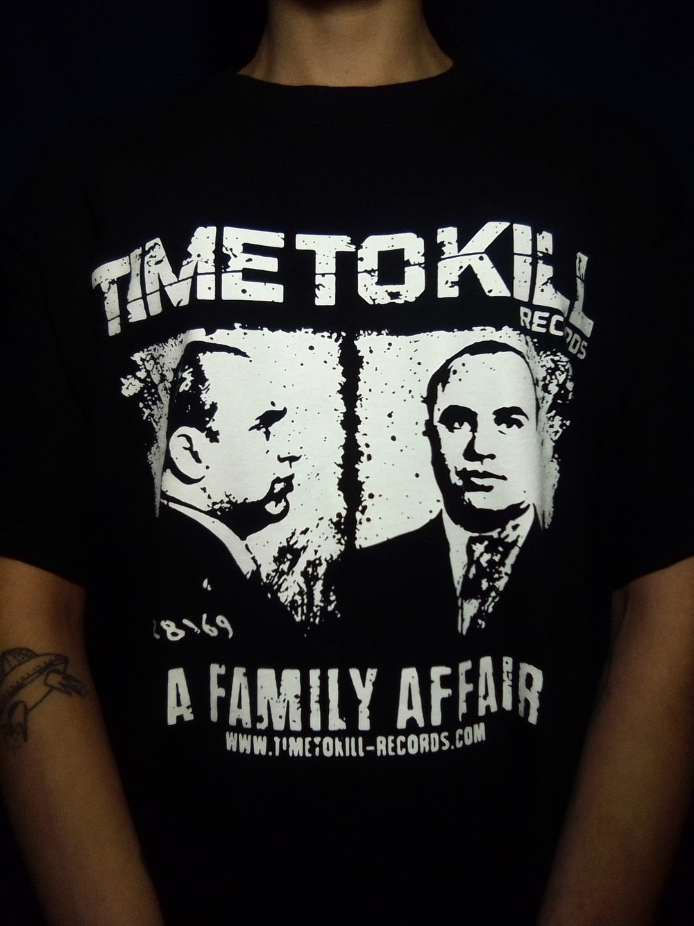 Time To Kill Records Official T-shirt CAPONE