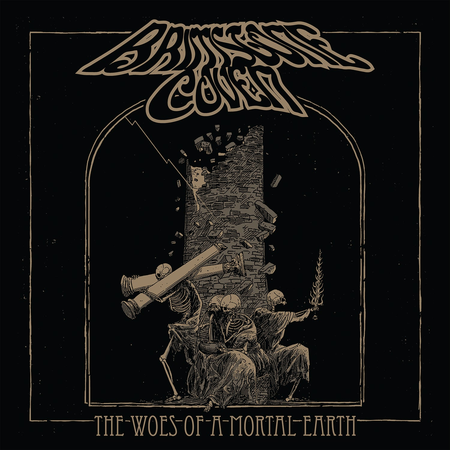 Image of Brimstone Coven - The Woes of a Mortal Earth Deluxe Vinyl Editions