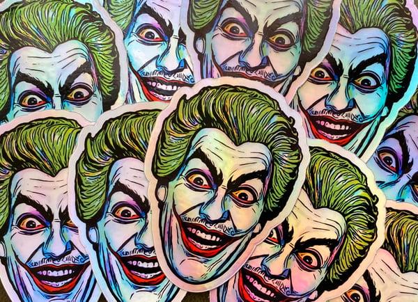 Image of Romero Joker holofoil sticker