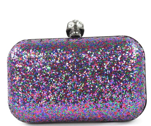 Image of Multi Color Skeleton Clutch