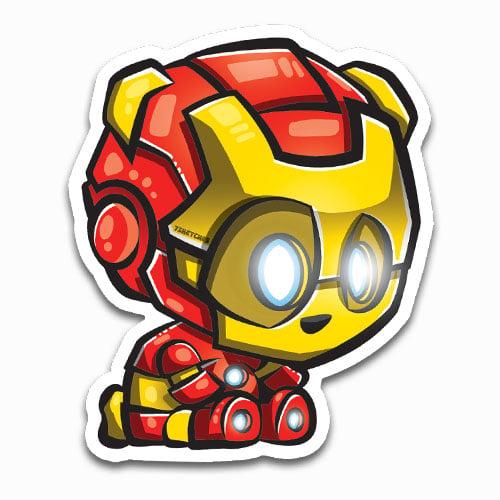 Image of Iron Panda Sticker