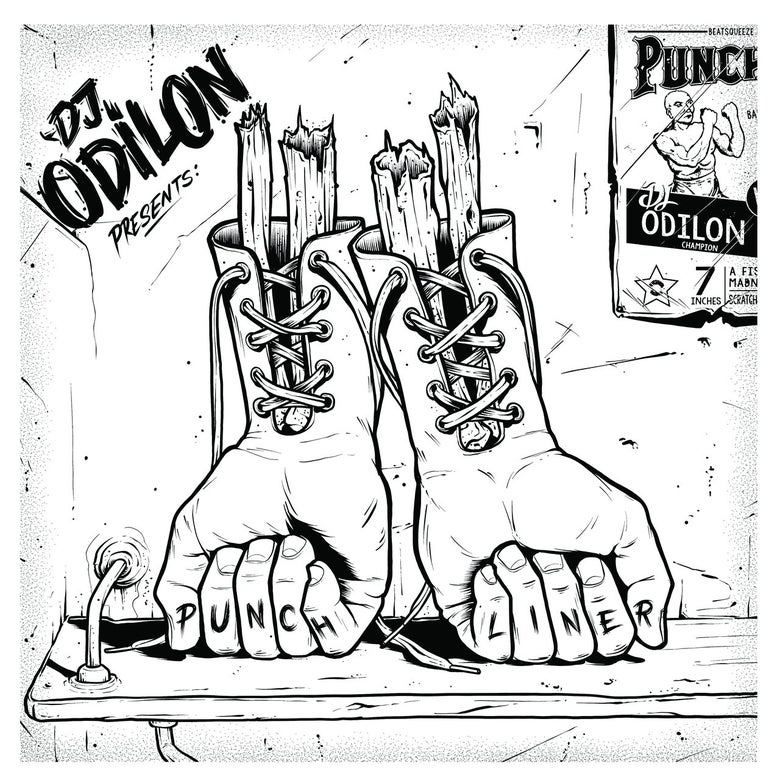 "Image of 7""  ""Punchliner 2"" by DJ Odilon"