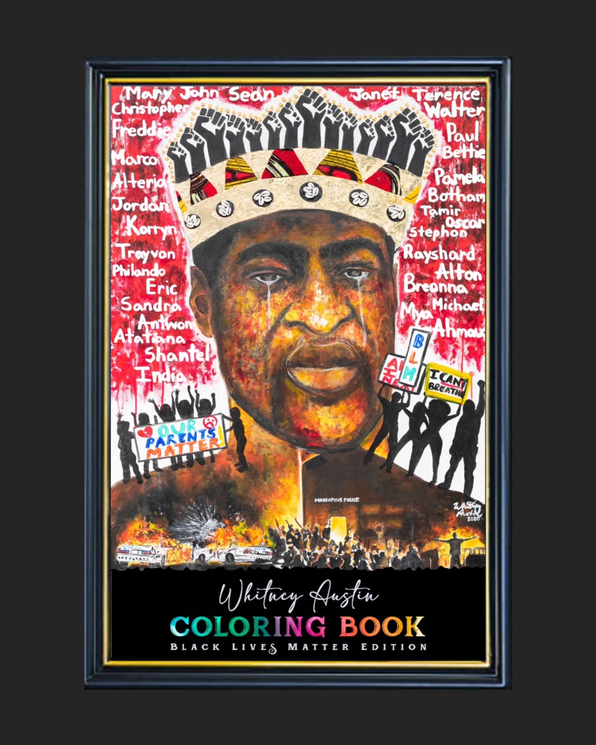 """Image of BLACK LIVES MATTER """"LIMITED EDITION"""" COLORING BOOK"""