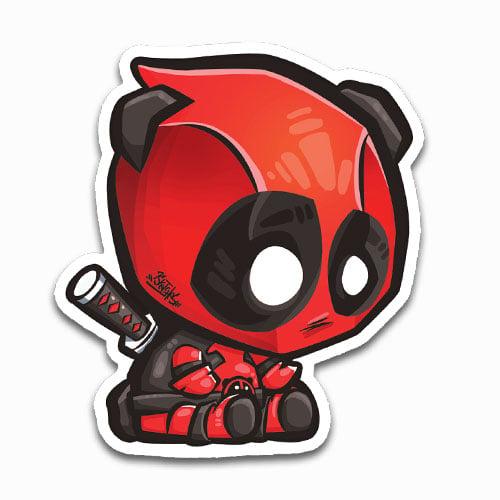 Image of Dead Panda Sticker