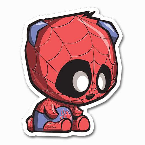 Image of Spider-Panda Sticker