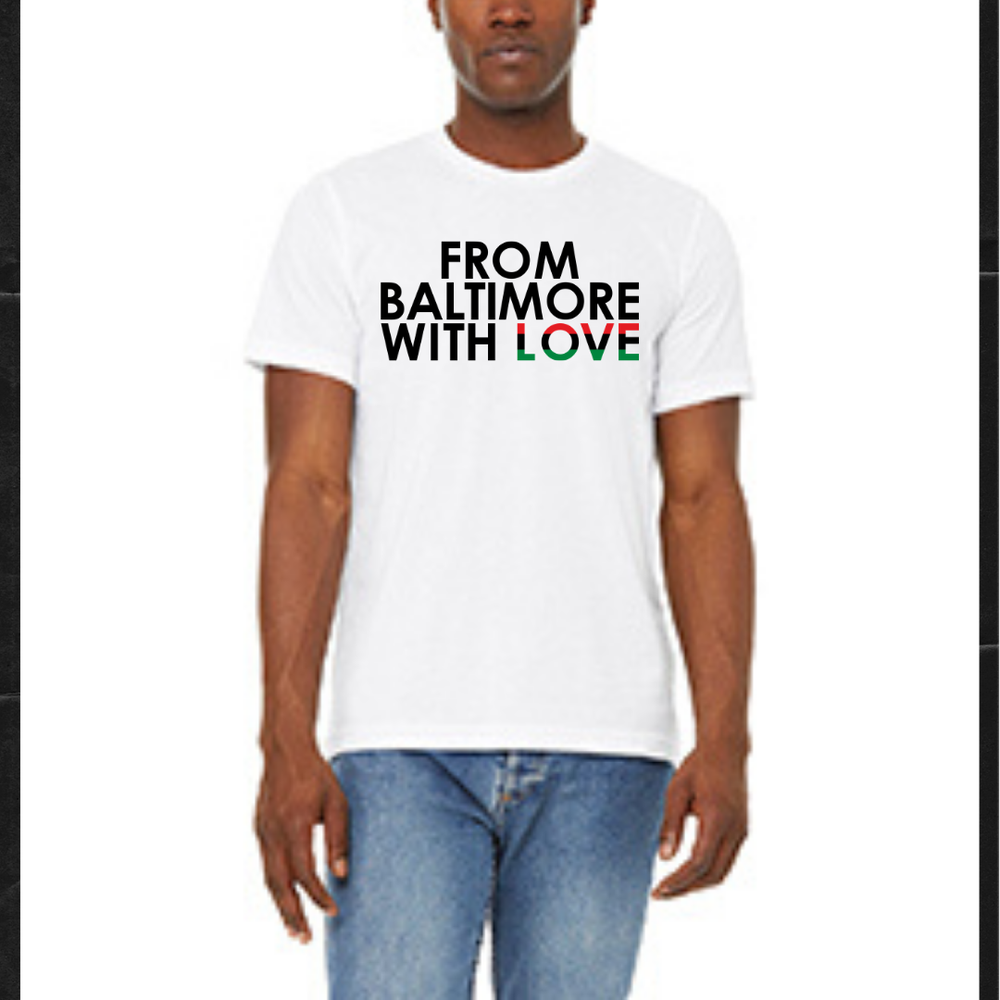 Image of From Baltimore With Love RBG SS Tee - White