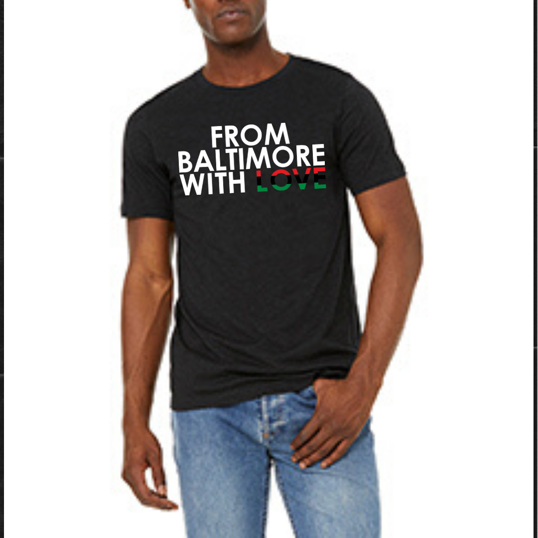 Image of From Baltimore With Love RBG SS Tee - BLACK