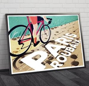 Cycling Print - Paris Roubaix