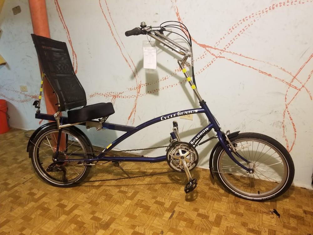 Image of 5685 Cycle Genius Sparrow (Recumbent)