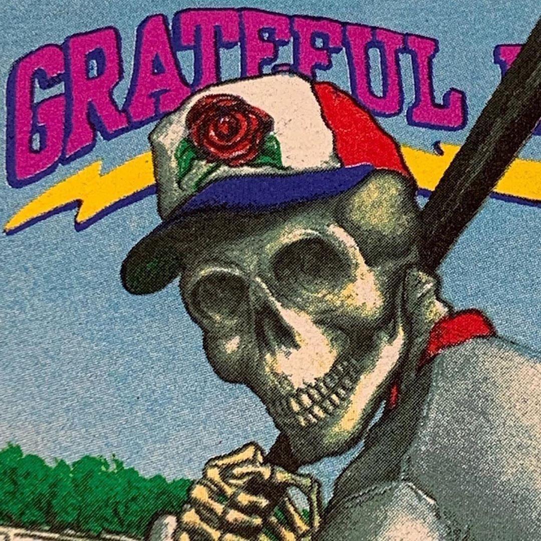 Original Vintage Grateful Dead Spring 1992 Spring Training!! LARGE