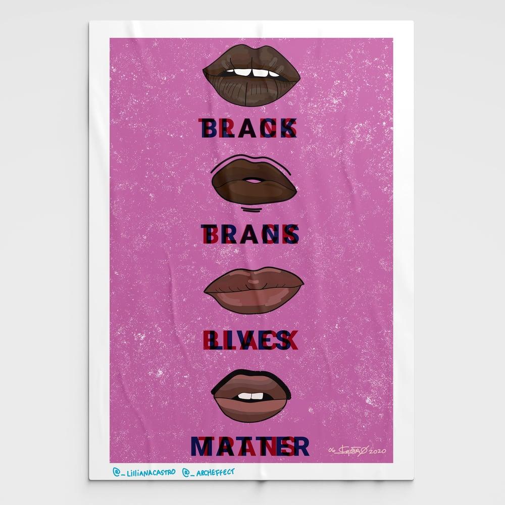 Image of Black Trans Lives Matter