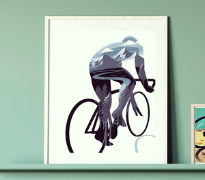 Cycling Print - Inside the Rde