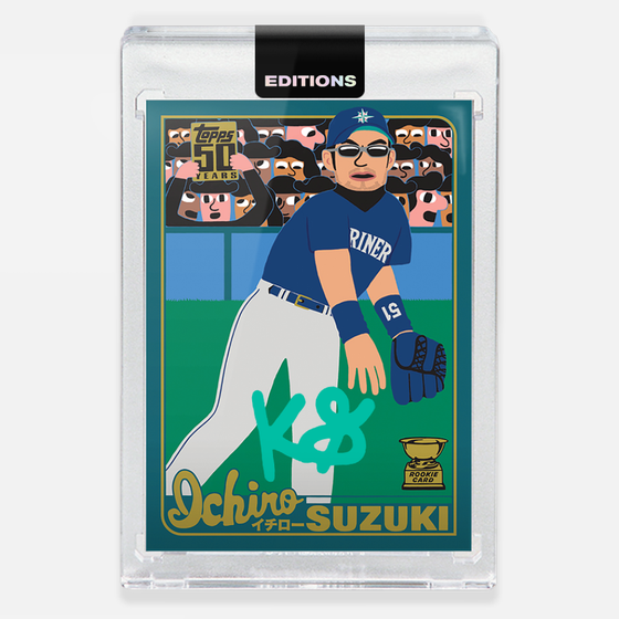 Image of 2001 Ichiro 'Turquoise'