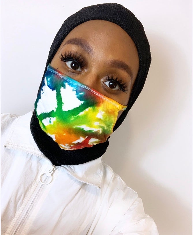 Image of Multi-Colored Mask