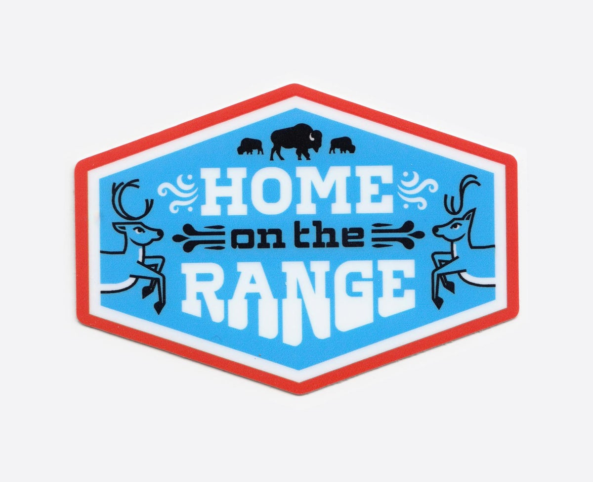 Image of Home on the Range Sticker