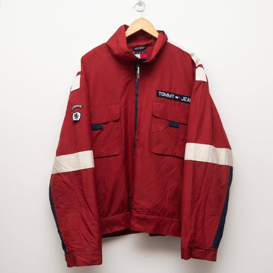 Image of Tommy Jeans Red Jacket