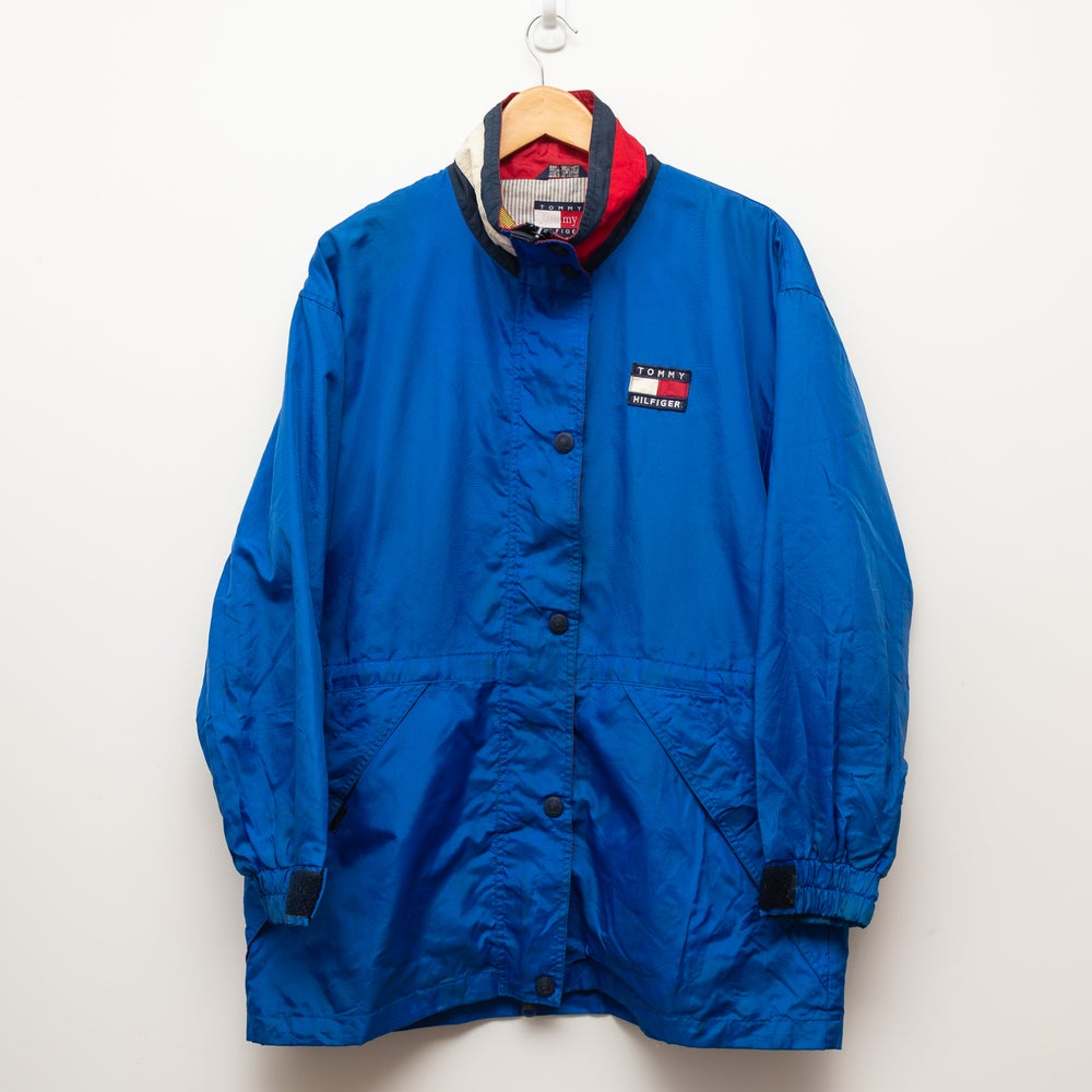 Image of Tommy Hilfiger Jacket Blue and Red