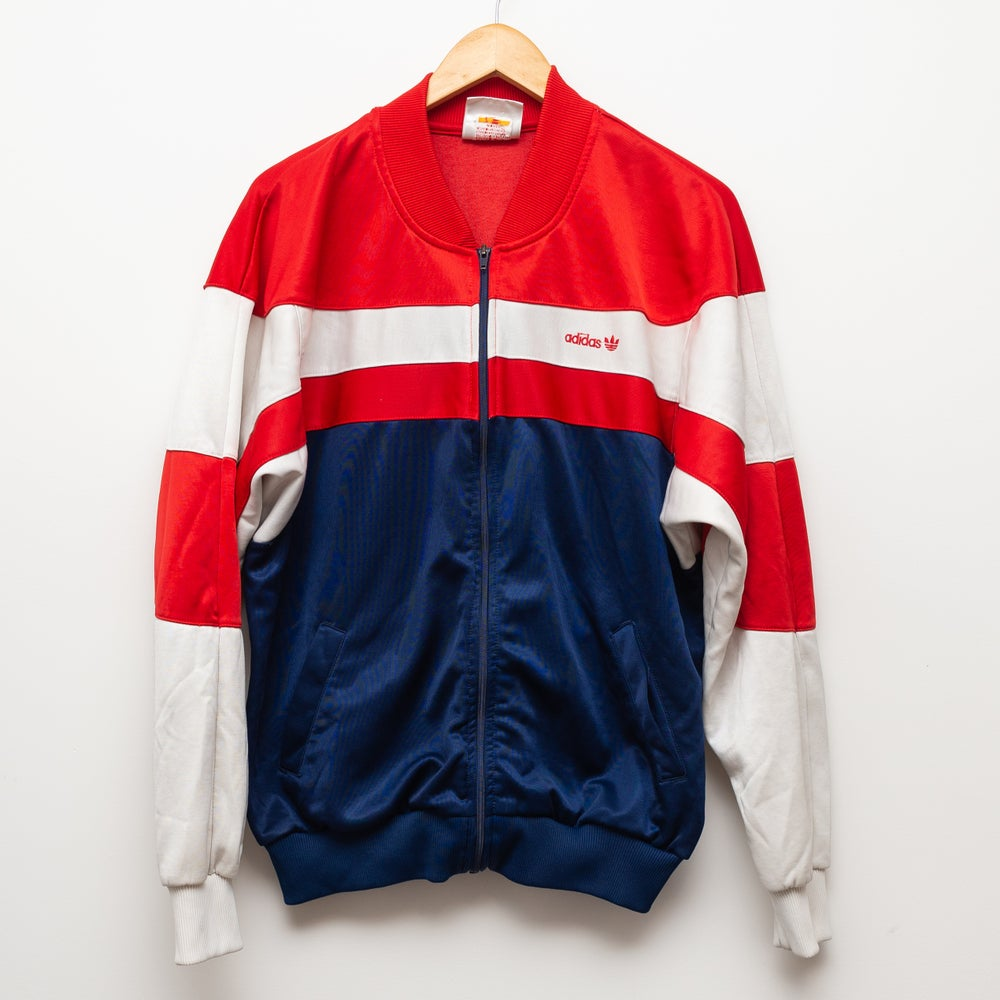 Image of Adidas Jacket Red and Blue