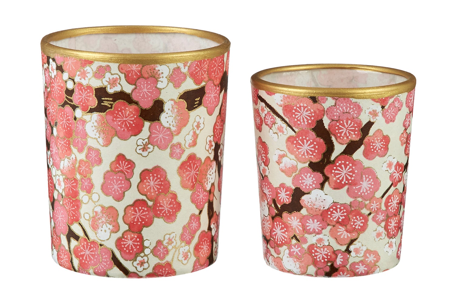 Image of Candle holders * Japan * Pink