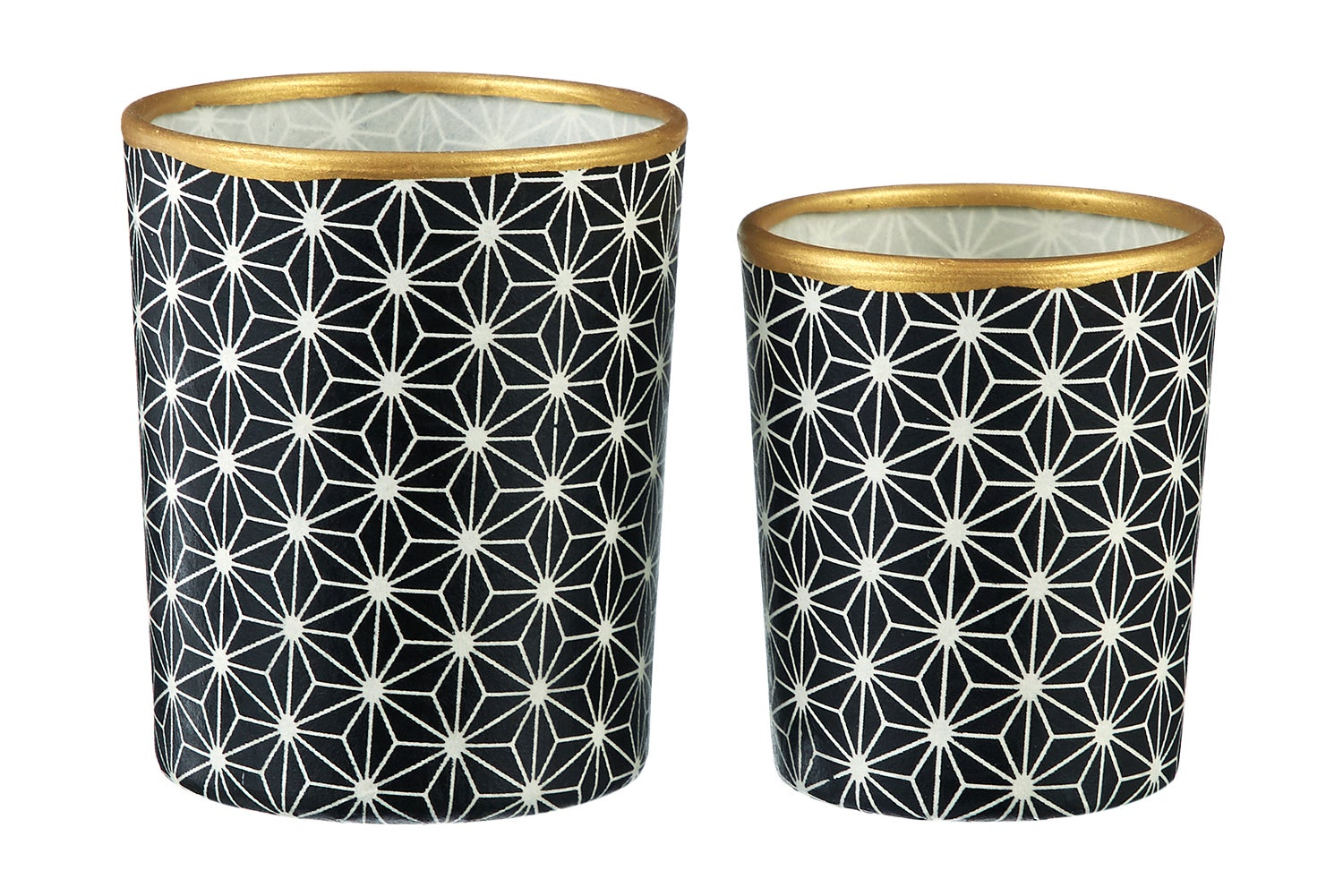 Image of Candle holders * Black stars