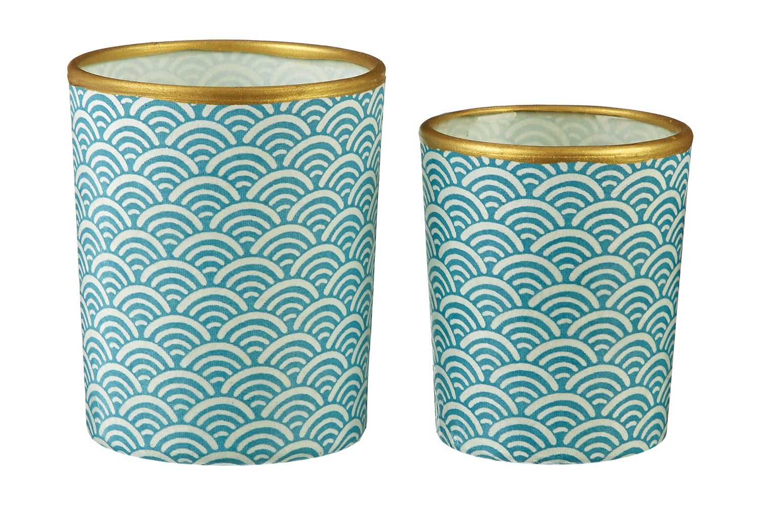 Image of Candle holders * Water * Blue