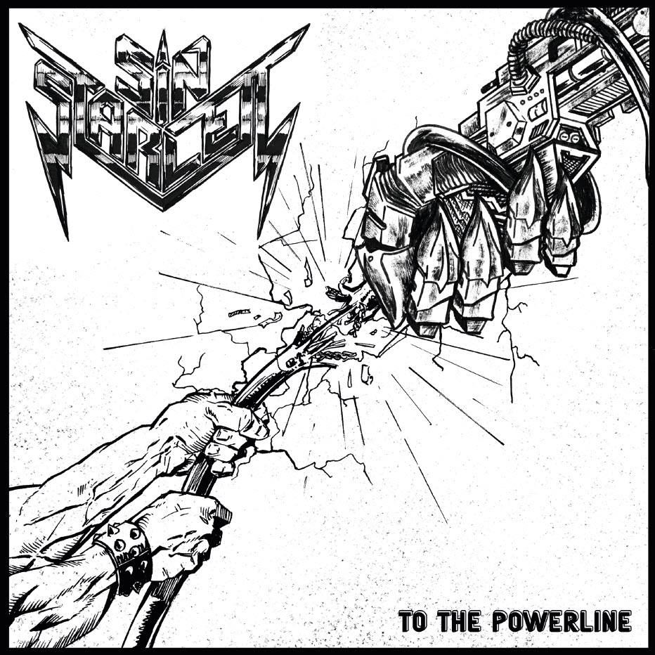 Image of SIN STARLETT - To  the powerline 7""