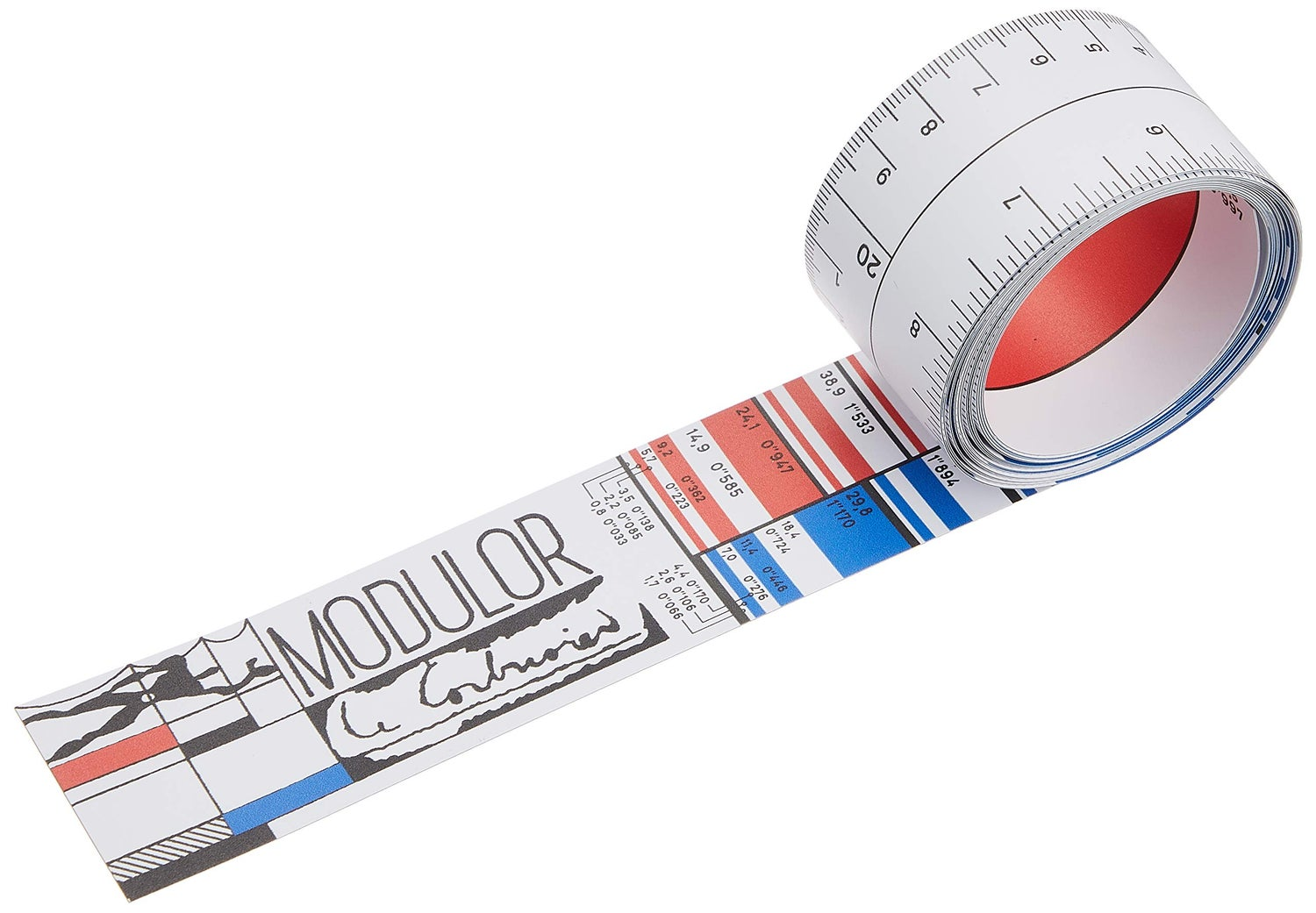 Image of Le Corbusier Modulor Rule: An Innovative Tape Measure from the Master of Modern Architecture