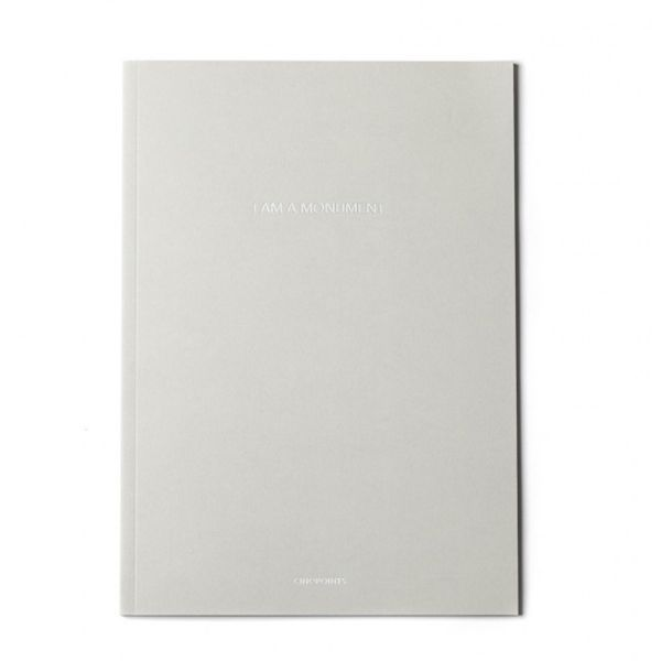 "Image of ""I am a monument"" Sketchbook"