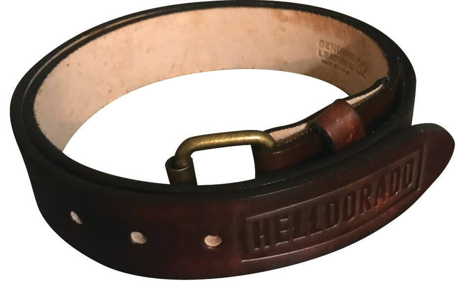 Image of ANTIQUE STAINED BELT