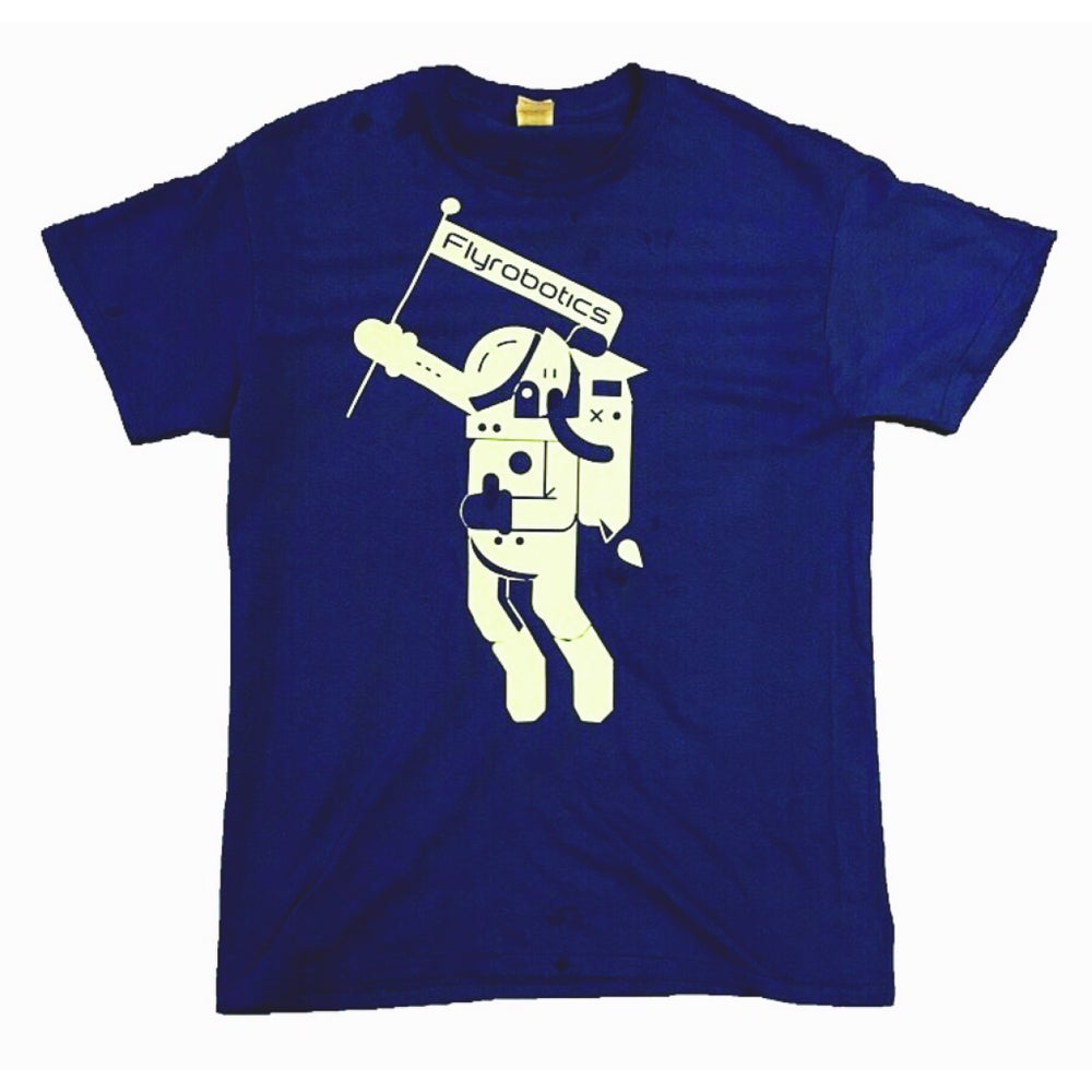 Image of Blue Astro Day Tee | Add a note for custom color