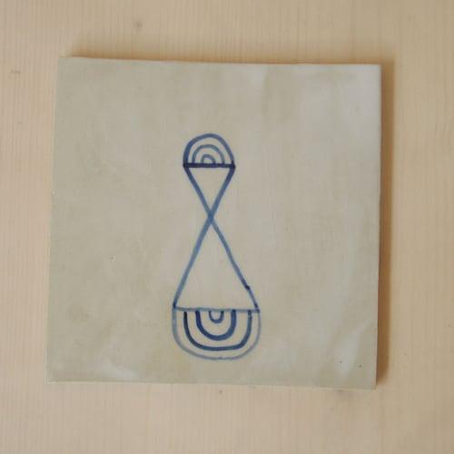 Image of Petits carreaux oniriques / Dreamlike Tile
