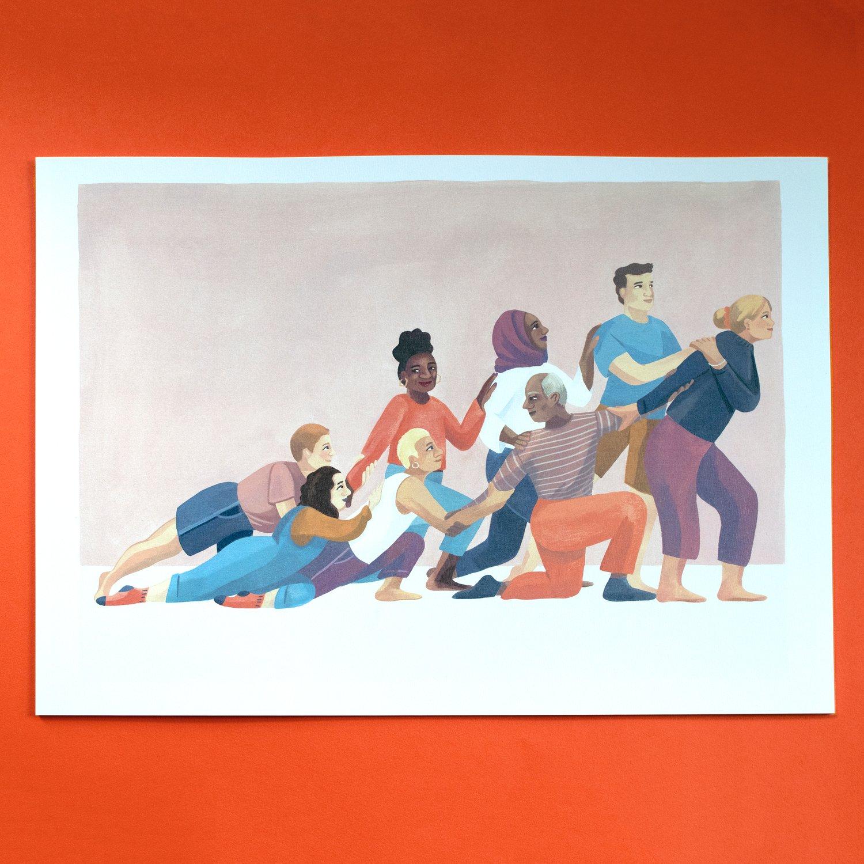 Image of People print