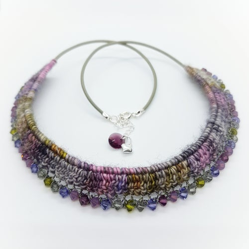 Image of MUMTAZ NECKLACE - Lilac Tree