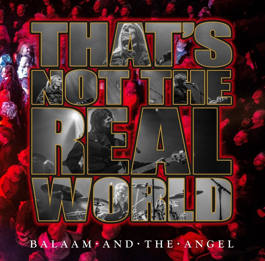 Image of Balaam and the Angel - That's Not The Real World Live - CD