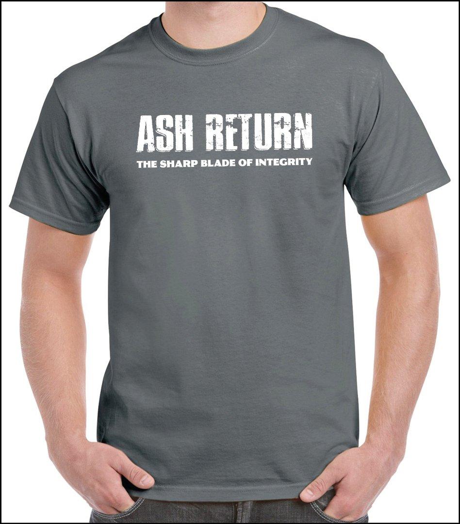 """Sharp Blade Basic"" T-Shirt charcoal"