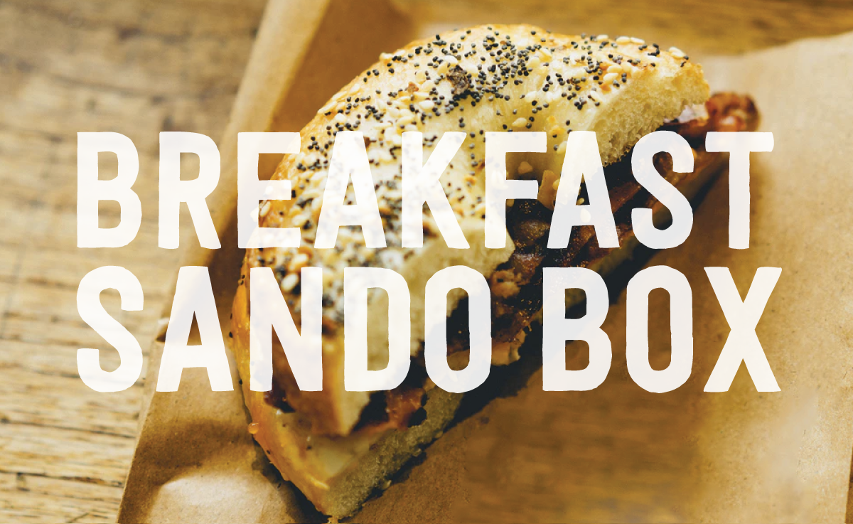 Image of Breakfast Sando Box
