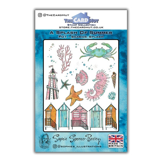Image of Seaside Splash Stamp Set