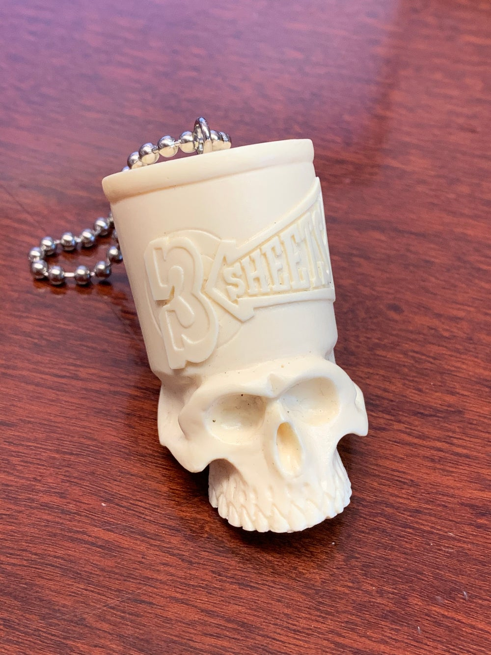 1-SHOT SKULL Key Chain