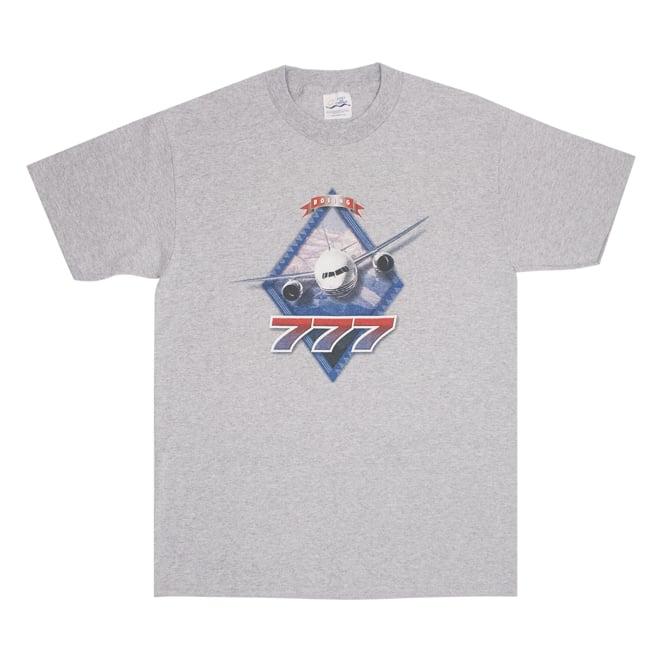 Image of Boing 777 Promo Vintage T-shirt Size M