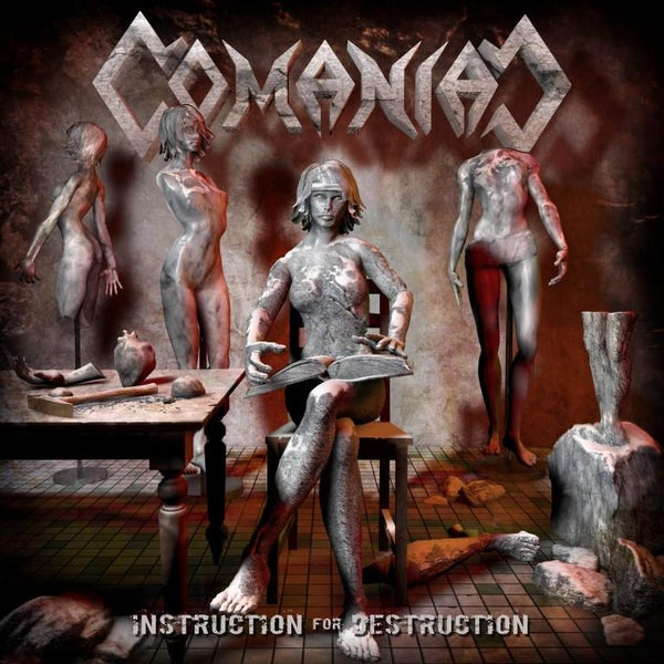 Image of COMANIAC, Instruction for destruction (CDs)