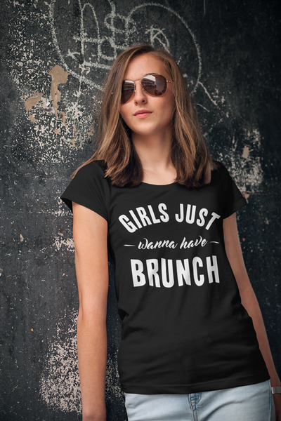 Image of Girls Just Wanna Have Brunch Graphic Tee