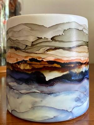 Image of Round Cylinder Pot - Large #3