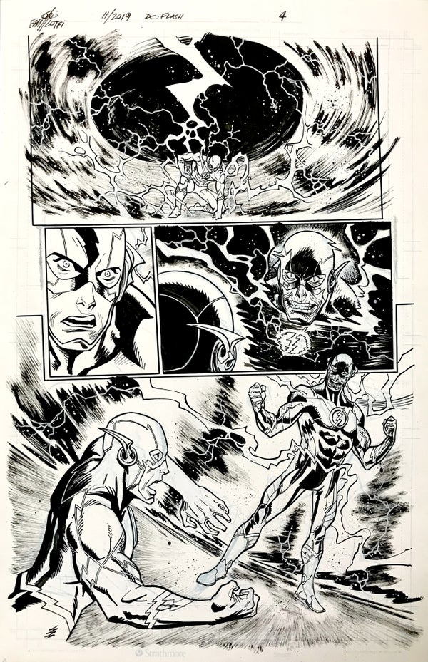 Image of DC FLASH: FASTEST MAN ALIVE ISSUE #9 PAGE 4 of 8